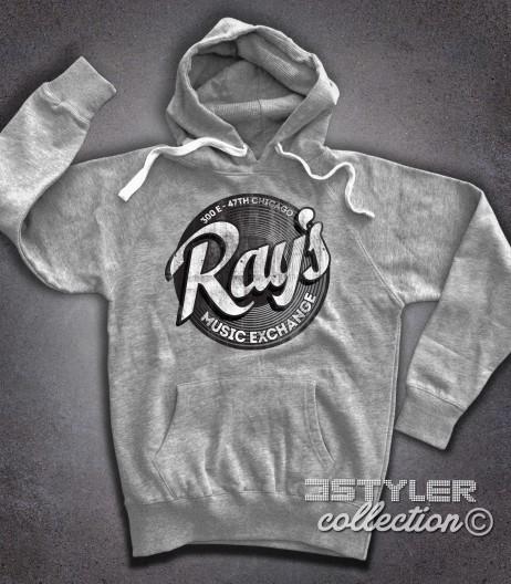 ray's felpa hoodie uomo ispirata al film blues brothers