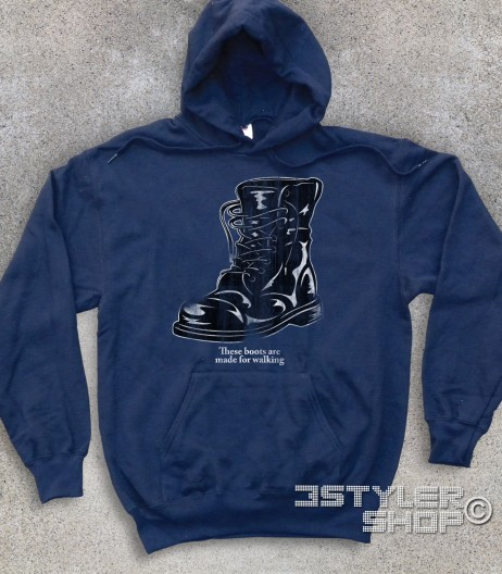 boots felpa unisex ispirata alla canzone di nancy Sinatra