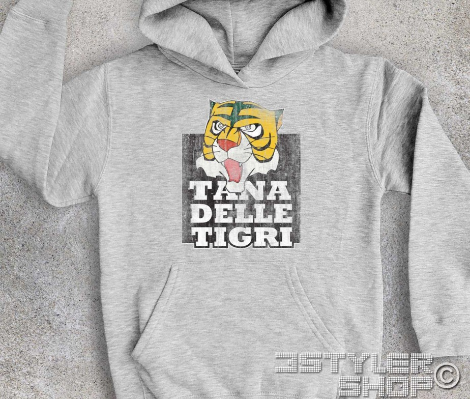 Uomo tigre felpa bambino tana delle tigri