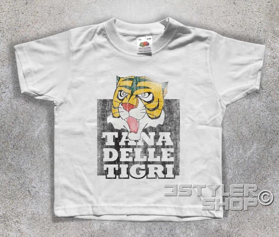Uomo tigre t shirt bambino tana delle tigri