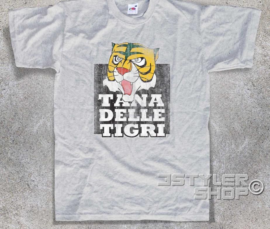 Uomo tigre t shirt tana delle tigri