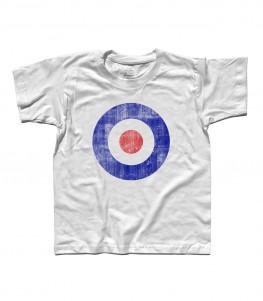 target italia t-shirt uomo versione antichizzata