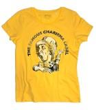 Charisma label t-shirt uomo raffigurante il logo con il cappellaio matto