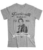 The Fonz t-shirt uomo raffigurante Fonzie e la scritta Garage Fonzarelli
