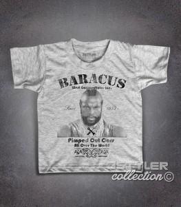 Mister T t-shirt bambino raffigurante PE (BA) Baracus dell' A-Team
