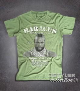 Mister T t-shirt uomo raffigurante PE (BA) Baracus dell' A-Team
