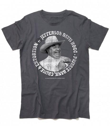 Boss Hogg t-shirt uomo ispirata al ricco antagonista della serie Hazzard