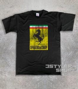 Frau Blücher t-shirt uomo ispirata al film frankenstein jr