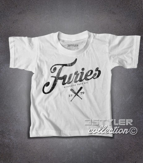 baseball furies t-shirt bambino ispirata alla famosa gang del film the warriors