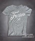 baseball furies t-shirt donna ispirata alla famosa gang del film the warriors