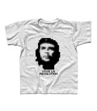 che guevara t-shirt con scritta viva la resolution