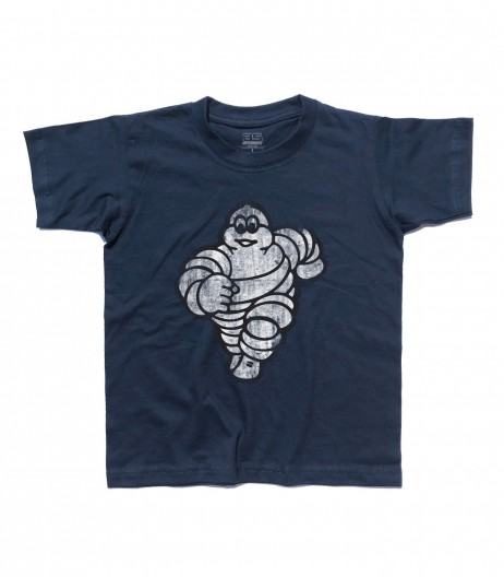 omino michelin t-shirt bambino bibendum vintage