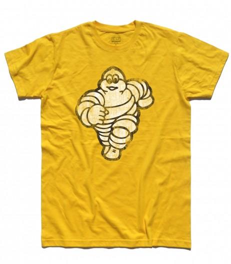 omino michelin t-shirt uomo bibendum vintage