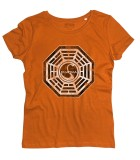 Dharma project t-shirt donna ispirata alla serie televisiva Lost