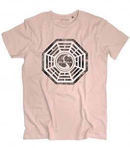 Dharma initiative t-shirt uomo ispirata alla serie televisiva Lost