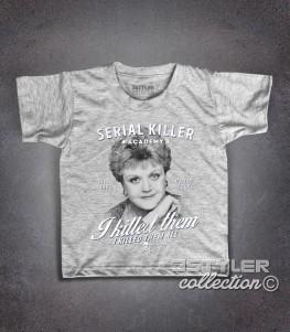Jessica Fletcher t-shirt bambino ispirata al telefilm la signora in giallo (Murder, She Wrote)