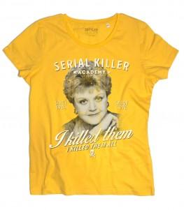 Jessica Fletcher t-shirt donna ispirata al telefilm la signora in giallo (Murder, She Wrote)