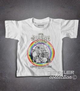 The Banana Splits t-shirt bambino raffigurante i componenti della band dei cartoni anni 70