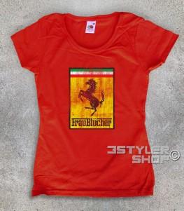 Frau Blücher t-shirt donna ispirata al film frankenstein jr