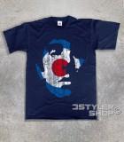 Keith Moon t-shirt raffigurante il volto stilizzato del batterista degli Who all'interno di un target