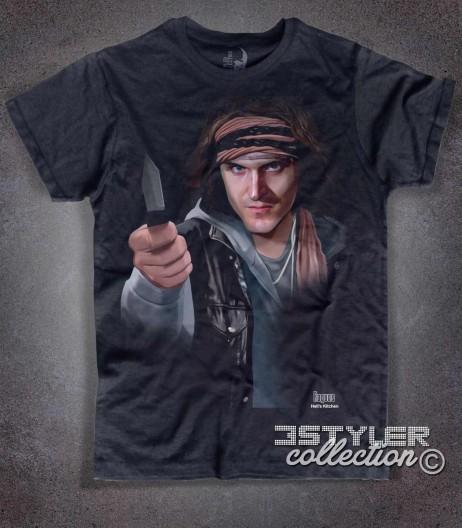 The Rogues t-shirt uomo nera ispirata ai Guerrieri della Notte