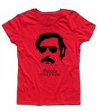 Pablo Escobar t-shirt donna con scritta pablito e plata o plomo