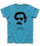 Pablo Escobar t-shirt uomo con scritta pablito e plata o plomo