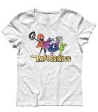 the impossibles t-shirt donna gli impossibili