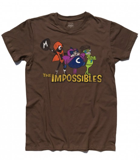 the impossibles t-shirt uomo gli impossibili