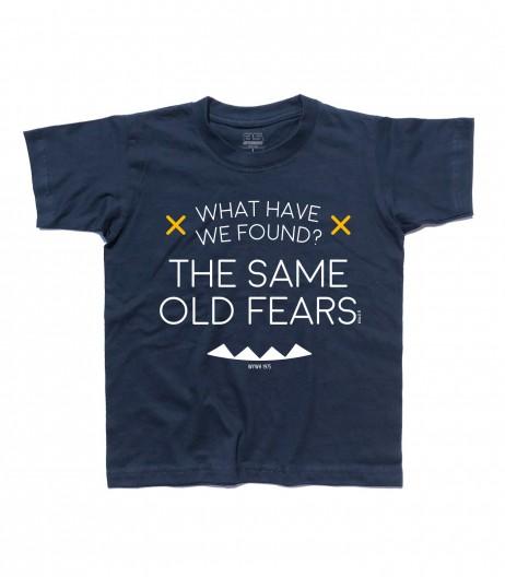 wish you where here t-shirt bambino Pink Floyd lyric