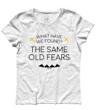 wish you where here t-shirt donna Pink Floyd lyric