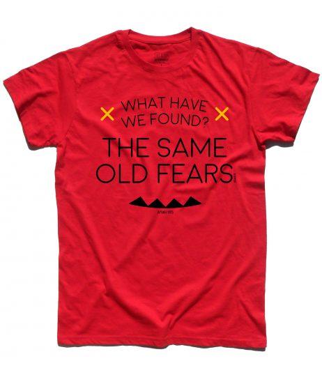 wish you where here t-shirt uomo Pink Floyd lyric