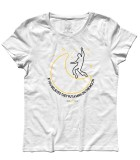 man on the moon t-shirt donna ispirata al singolo dei REM