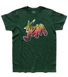 Jem t-shirt uomo raffigurante il logo di Jem e le Holograms