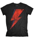 saetta rossa t-shirt uomo david bowie