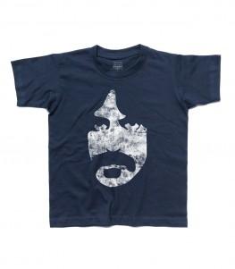 Frank zappa t-shirt bambino vintage face
