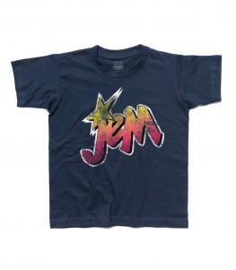Jem t-shirt bambino raffigurante il logo di Jem e le Holograms