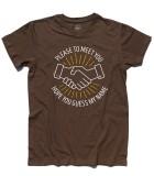 Sympaty for the devil t-shirt uomo ispirata alla canzone dei rolling stones