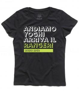 bubu t-shirt donna andiamo Yoghi
