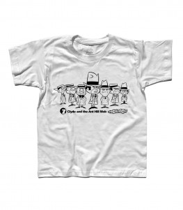 clyde and the ant hill mobs t-shirt bambino wacky races