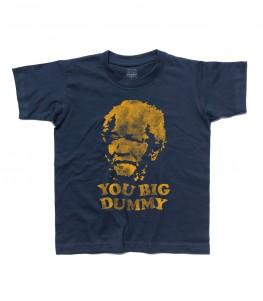 sunford and son t-shirt bambino con scritta you big dummy