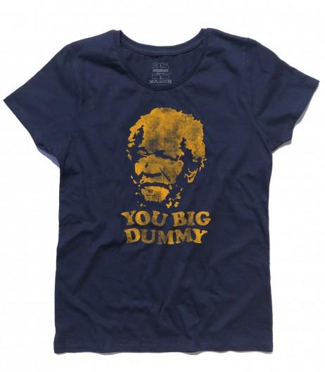 sunford and son t-shirt donna con scritta you big dummy