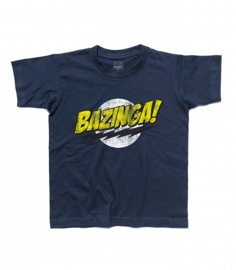 bazinga t-shirt bambino the big bang theory