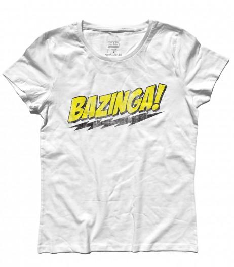 bazinga t-shirt donna the big bang theory