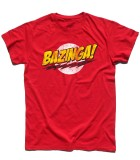bazinga t-shirt uomo the big bang theory