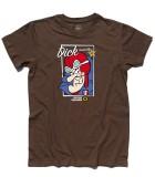 Dick Dastardly t-shirt uomo raffigurante il cattivo delle Wacky races e amico di Muttley