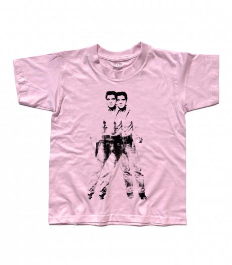 elvis double t-shirt bambino andy warhol