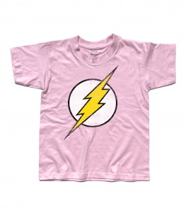 flash t-shirt bambino vintage logo