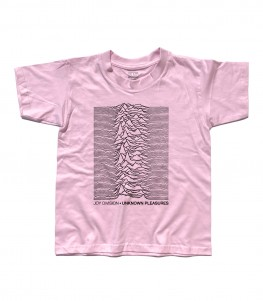 Joy Division t-shirt bambino unknow pleasures