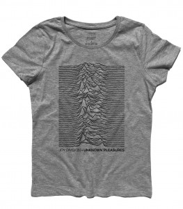 Joy Division t-shirt donna unknow pleasures